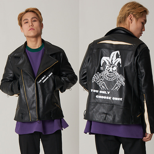 Panic Disorder Clown RIDER JACKET