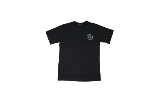 [비바프]Black half logo t-shirts