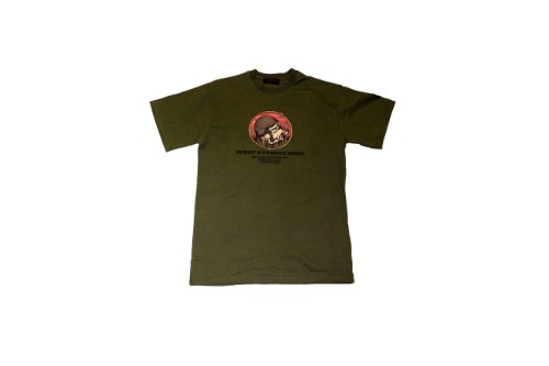 [비바프]Khaki dog sport t-shirts