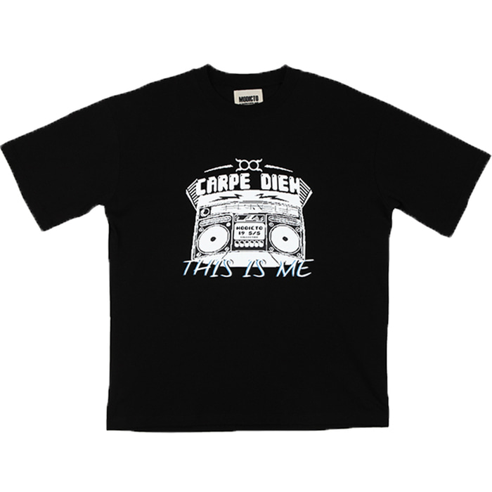 [모딕토]Graphic T-Shirt_(Black)