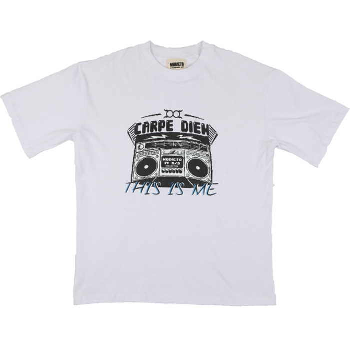[모딕토]Graphic T-Shirt_(White)