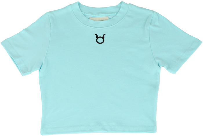 Logo Crop T-Shirts _ MINT